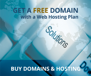 Free Domain with Hosting Plan